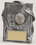 Soccer Resin Plaque Soccer Trophy Awards