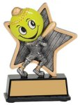 Softball Little Pals Resin Trophy Softball Awards