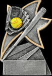 Softball Jazz Star Resin Softball Awards