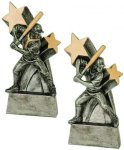 Baseball / Softball Super Star Resin Softball Trophy Awards