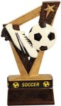 Soccer Trophy Band Resin Sports Band Resin Trophy Awards