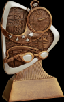 Triad Swimming Resin Swimming Trophy Awards