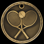 3D Tennis Medal Tennis Trophy Awards