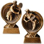 Tennis Resin Trophy Tennis