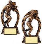 Bronze and Gold Track Track & Cross Country Trophy Awards