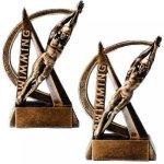 Swimming Resin Trophy Ultra Action Resin Trophy Awards