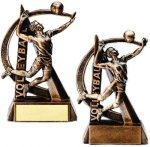 Volleyball Resin Trophy Ultra Action Resin Trophy Awards