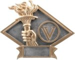 Victory Diamond Plate Resin  Victory Trophy Awards