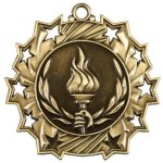 Victory Ten Star Medal Victory Trophy Awards