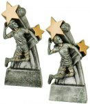 Volleyball Super Star Resin Trophy Volleyball Trophy Awards