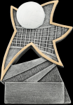 Volleyball Jazz Star Resin Volleyball Trophy Awards