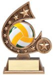 Resin Comet Series Volleyball Volleyball Trophy Awards