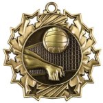Volleyball Ten Star Medal Volleyball Trophy Awards