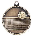 High Relief Volleyball Medal Volleyball Trophy Awards