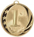 1st Place MidNite Star Medal Water Polo Trophy Awards