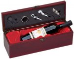 Wine Box With Red Satin Lining Wine Gifts