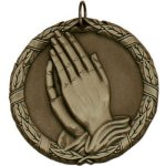 Praying Hands XR Series Medal Awards