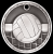 3D Volleyball Medal 3-D Series Medal Awards