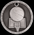 3-D Basketball Medal 3-D Series Medal Awards