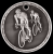 3-D Bicycling Medal 3-D Series Medal Awards