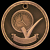 3-D Perfect Attendance Medal Scholastic Trophy Awards